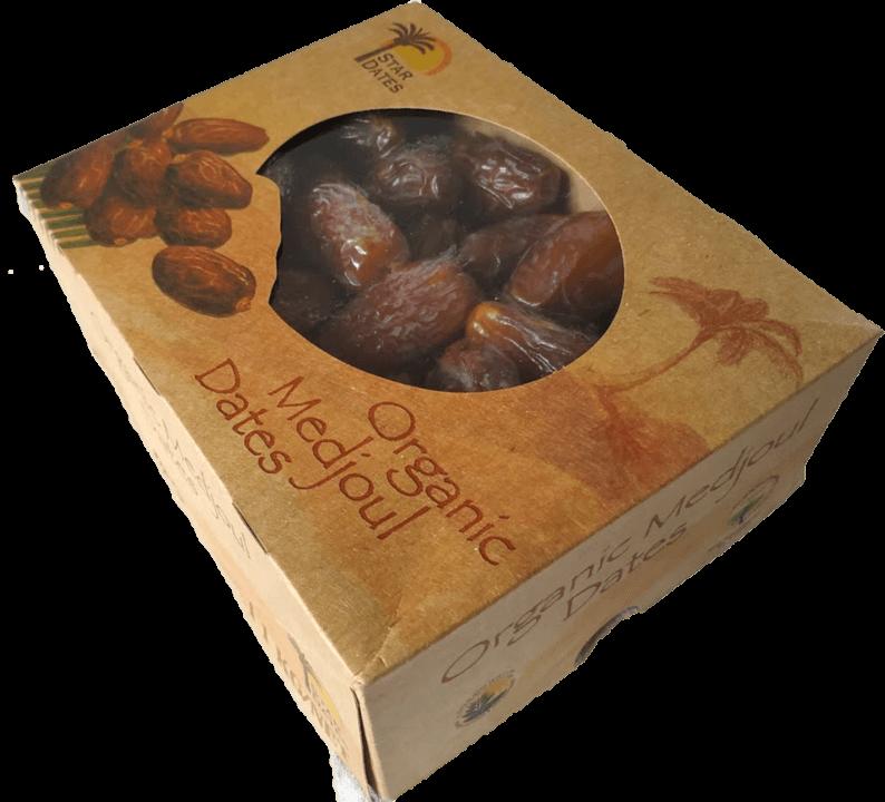 8x1kg bio medjool dates